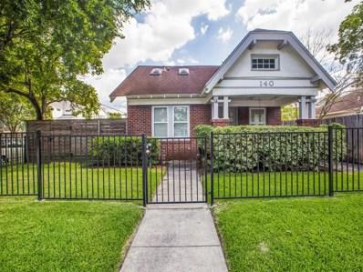 140 Munford Street, Houston, TX 77008 - MLS#: 17521497