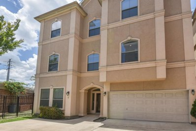 607 Oakley Street UNIT 5, Houston, TX 77006 - MLS#: 19451714