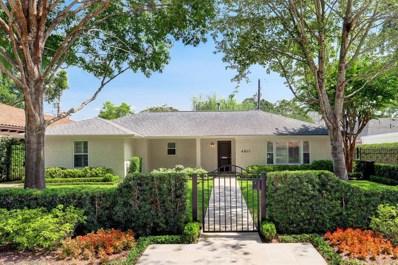 4611 Ingersoll Street, Houston, TX 77027 - MLS#: 22829066
