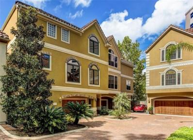 6008 Glencove Street UNIT E, Houston, TX 77007 - #: 25644175