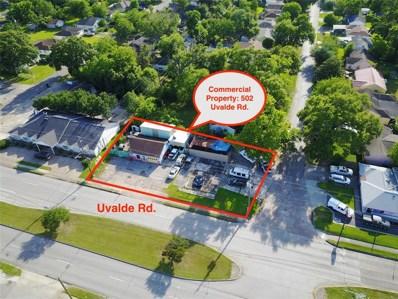502 Uvalde Street, Houston, TX 77015 - MLS#: 25680739