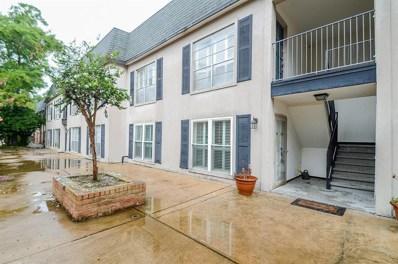 1800 Stoney Brook Drive UNIT 105, Houston, TX 77063 - MLS#: 25719374