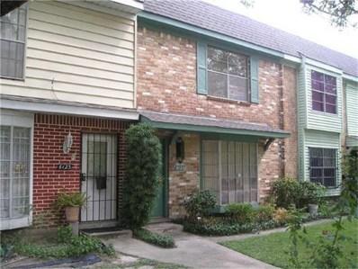 6041 Fondren Road UNIT 12, Houston, TX 77036 - MLS#: 26389666