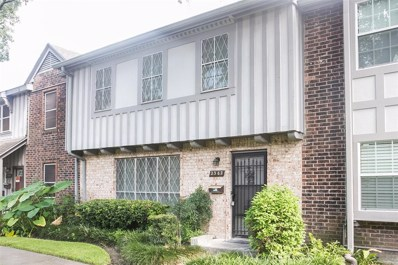 2362 Triway UNIT 157, Houston, TX 77043 - MLS#: 2747418