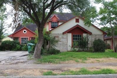 11511 Chariot, Houston, TX 77477 - MLS#: 36833648