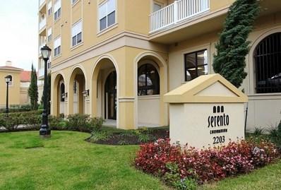 2203 Dorrington Street UNIT 403, Houston, TX 77030 - MLS#: 37148306