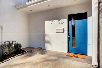 705 Usener Street UNIT B, Houston, TX 77009 - #: 37750505