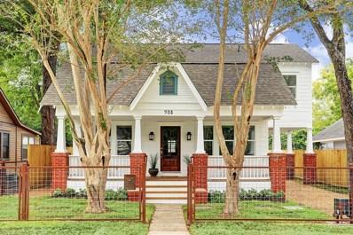 908 Tabor Street, Houston, TX 77009 - #: 39318415