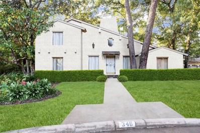 346 Tamerlaine Drive, Houston, TX 77024 - MLS#: 43717289