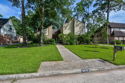 3415 Stoney Oak Drive, Houston, TX 77068 - MLS#: 51868692