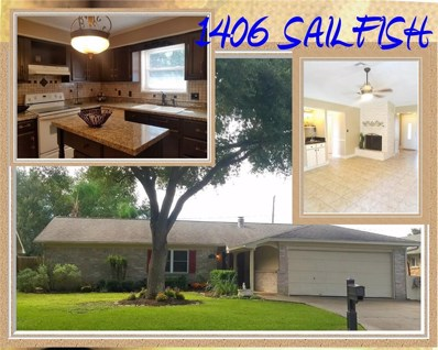 1406 Sailfish Drive, Bay City, TX 77414 - MLS#: 66494887