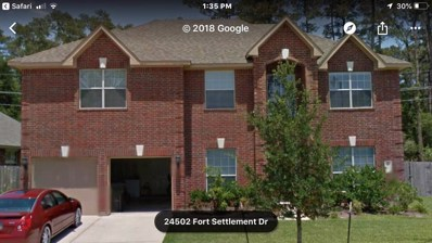 24502 Fort Settlement Drive, Spring, TX 77373 - MLS#: 67783324