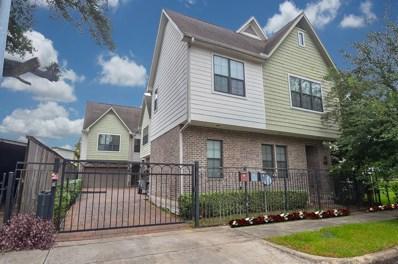 4001 Dallas Street UNIT A, Houston, TX 77023 - MLS#: 68257170