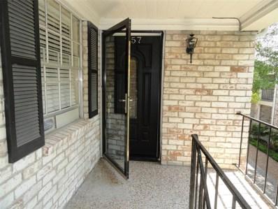 7900 Westheimer Road UNIT 257, South Houston, TX 77063 - MLS#: 69387460