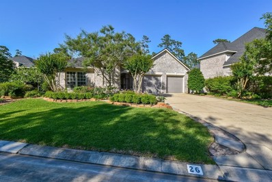26 Palmer Green, The Woodlands, TX 77381 - MLS#: 72007402