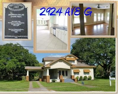 2924 Avenue G, Bay City, TX 77414 - MLS#: 75778932