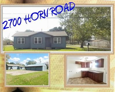 2700 Horn, Bay City, TX 77414 - MLS#: 79397737