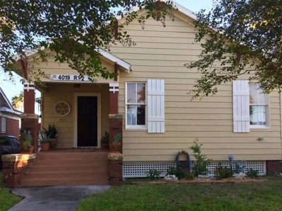 4019 Avenue R 1\/2, Galveston, TX 77550 - MLS#: 84464724