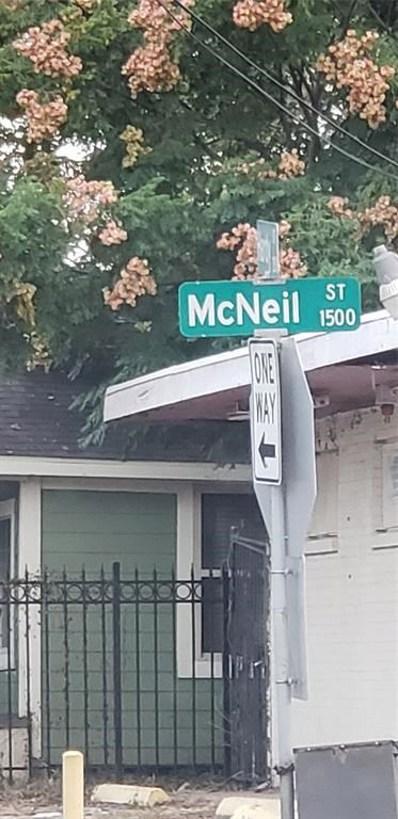 1511 McNeil Street, Houston, TX 77009 - MLS#: 84701564