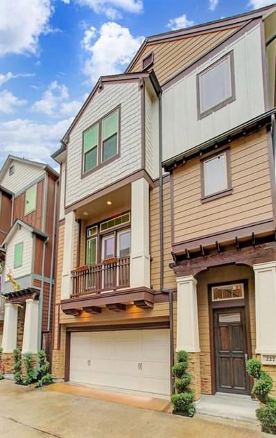 227 W Norma Street, Houston, TX 77009 - #: 89933441