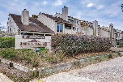 1085 Country Place Drive UNIT 1085, Houston, TX 77079 - MLS#: 94097489