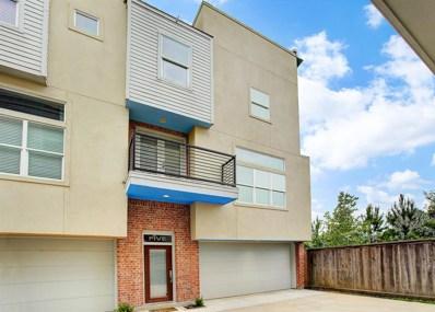 637 Rutland Street UNIT 5, Houston, TX 77007 - MLS#: 9491089