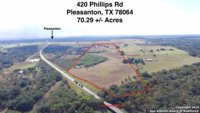 420 Phillips Rd, Pleasanton, TX 78064 - #: 1213145