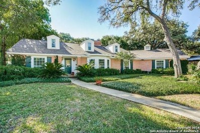 126 Oak Glen Dr, San Antonio, TX 78209 - #: 1347322