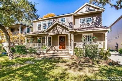 253 Castano Ave, Alamo Heights, TX 78209 - #: 1356801
