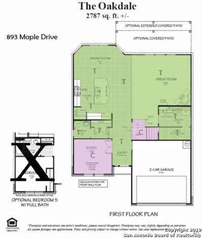 893 Maple Dr, New Braunfels, TX 78130 - #: 1362936