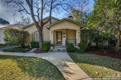 120 Tuxedo Ave, Alamo Heights, TX 78209 - #: 1364614