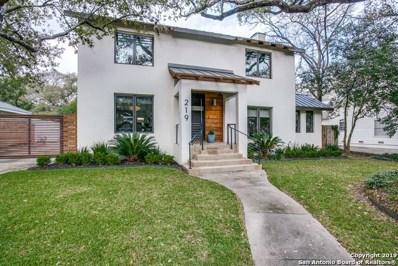 219 Tuxedo Ave, Alamo Heights, TX 78209 - #: 1364945