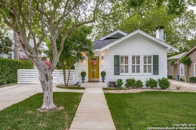 122 Lamont Ave, Alamo Heights, TX 78209 - #: 1377741