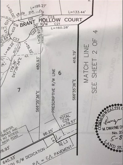11437 Brant Hollow Court, Chesterfield, VA 23838 - MLS#: 1714416