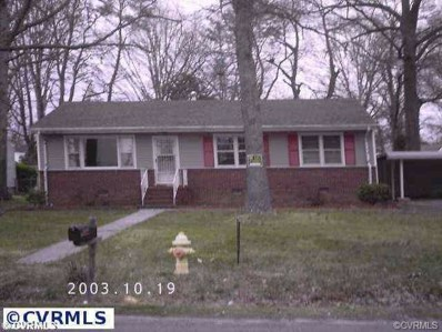 2525 Deerfield, Petersburg, VA 23805 - MLS#: 1803749