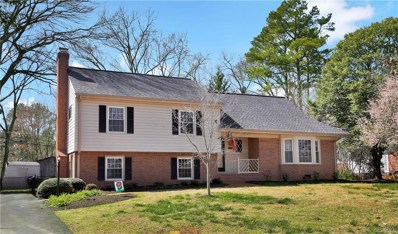 2510 Woodmont Drive, North Chesterfield, VA 23235 - MLS#: 1809331