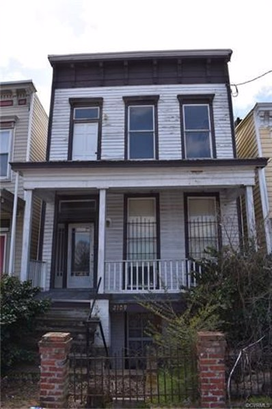 2109 E Marshall Street, Richmond, VA 23223 - MLS#: 1810395