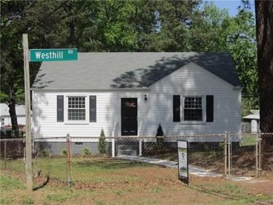 1800 Westhill Road, Richmond, VA 23226 - MLS#: 1815604
