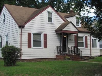 3403 Cliff Avenue, Richmond, VA 23222 - MLS#: 1826145