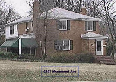 6207 Monument Avenue, Henrico, VA 23226 - MLS#: 1827726