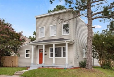 451 Patrick Avenue, Richmond, VA 23222 - MLS#: 1827759