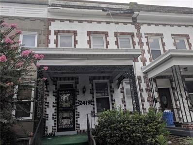 2419 W Main Street, Richmond, VA 23220 - MLS#: 1828302