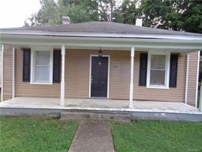122 Grigg Street, Petersburg, VA 23803 - MLS#: 1828600