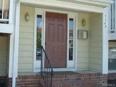 7703 O\'Donnell Court UNIT 1905, Richmond, VA 23228 - MLS#: 1831818