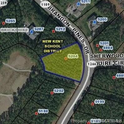 5204 Brandon Pines Drive, Providence Forge, VA 23140 - MLS#: 1833788