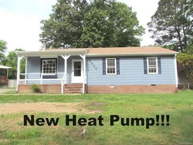 8850 Salem Church Road, Chesterfield, VA 23237 - MLS#: 1834683