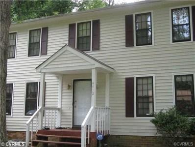 4712 Conestoga Place, Chesterfield, VA 23832 - MLS#: 1835292