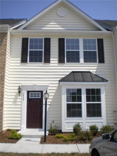 924 Kitty Hamilton Circle, Ashland, VA 23005 - MLS#: 1836689