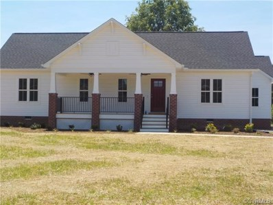 12605 Five Forks Road, Amelia Courthouse, VA 23002 - MLS#: 1836723