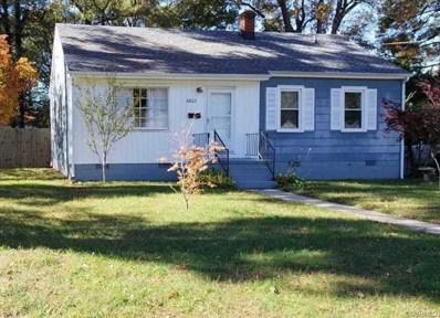 6602 Carmel Road, Henrico, VA 23228 - MLS#: 1839110